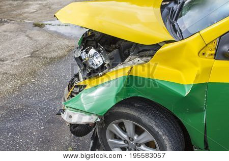 Traffic collisions can be classified by general type. Types of collision include head-on road departure rear-end side collisions and rollovers.
