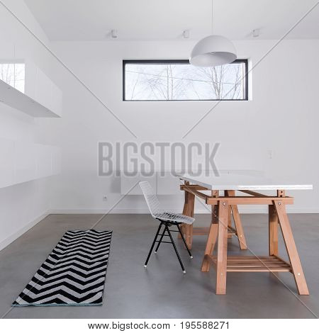 Modernist Decor Of Dining Room