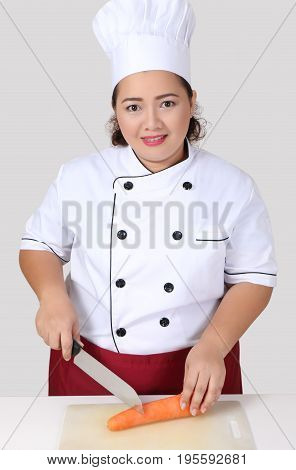 Asian Woman Chef