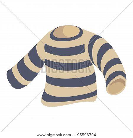 Seaman clothes icon. Cartoon illustration of seaman clothes vector icon for web
