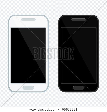 Two Phones Black Screen