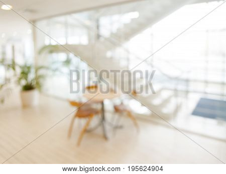 unfocused office place, blur background, soft light