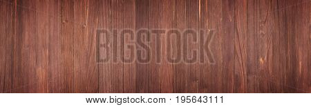 Panorama From Brown Wooden Planks, Wood Table Background