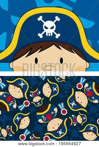Cute Pirate Pattern