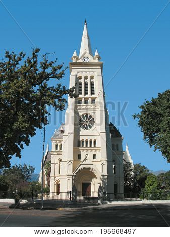 AN OLD CHURCH, CONVERTED INTO A MUSEUM, PAARL, WESTERN CAPE, SOUTH AFRICA