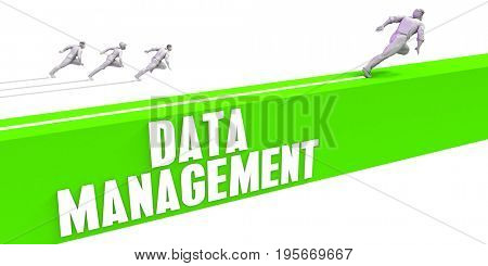 Data Management as a Fast Track To Success 3D Illustration Render