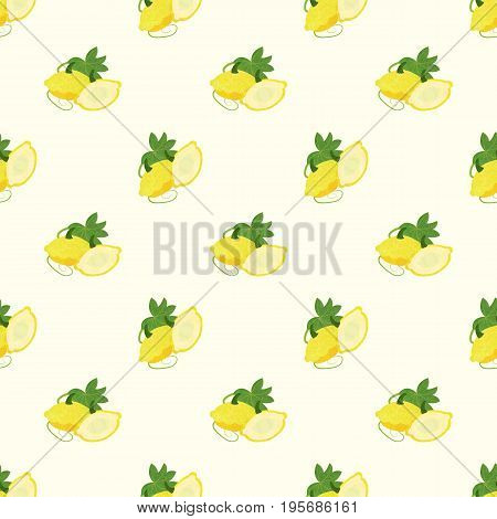 Seamless Background Image Colorful Watercolor Texture Vegetable Food Ingredient Yellow Patty Pan Squ