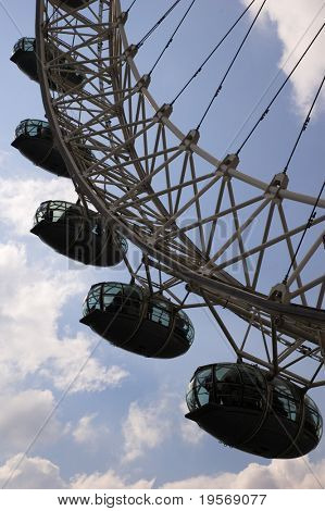 London Eye - close up view