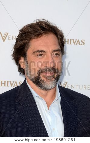 LOS ANGELES - July 13:  Javier Bardem at the Final Pitch Event from Chivas The Venture at the LADC Studios on July 13, 2017 in Los Angeles, CA