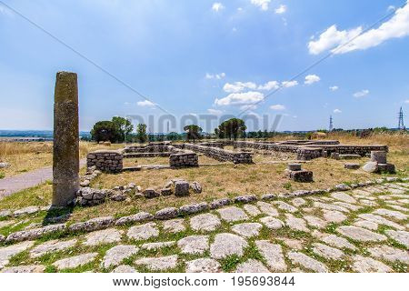 Lucus Feroniae: was an ancient sacred grove dedicated to the Sabine goddess Feronia. It was located in Etruria across the ancient Via Tiberina. Now is in Capena near Rome Italy
