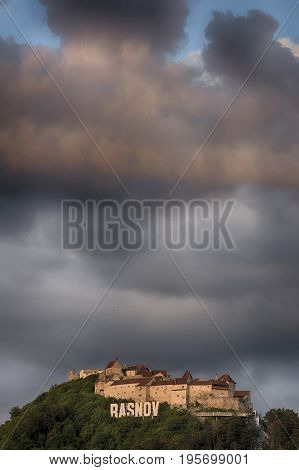 Rasnov Citadel (romanian: Cetatea Rasnov, German: Rosenauer Burg) Is A Historic Monument And Landmar