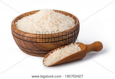 rice cereal isolated on white