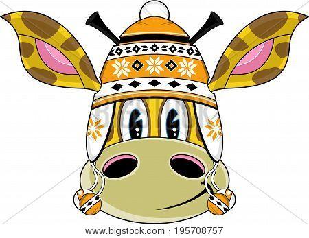 Bobble Hat Giraffe.eps