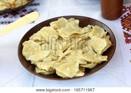 Vareniki With Cheeses