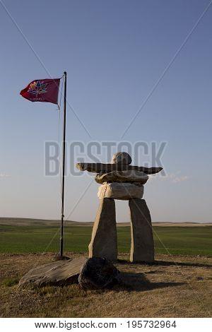 Inukshuk Inukchuk Saskatchewan