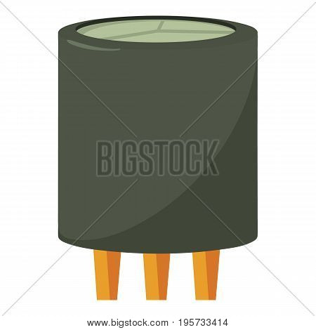 Triode icon. Cartoon illustration of triode vector icon for web