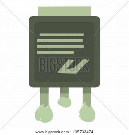 Circuit icon. Cartoon illustration of circuit vector icon for web
