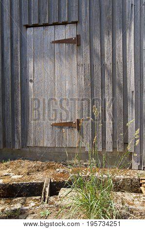 Old Timber Door