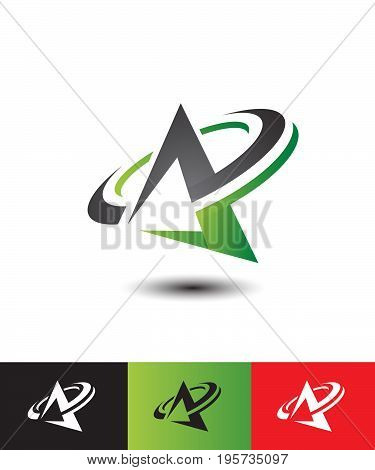 Letter A big logo for your company
