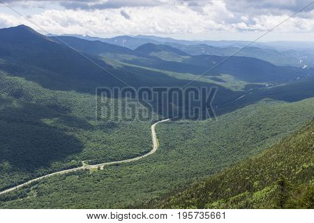 View From Cannon Mountain, New Hampshire