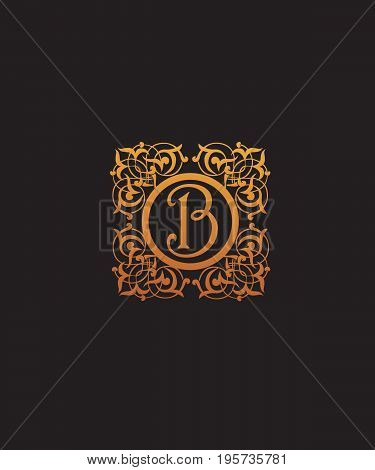 Luxury Letter B logo vector for your company