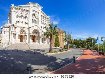 Monaco Saint Nicholas Cathedral Cote d'Azur Riviera