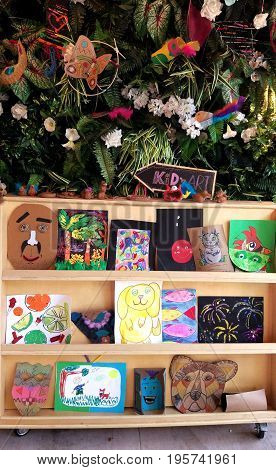 Collection of kids's arts and crafts activities