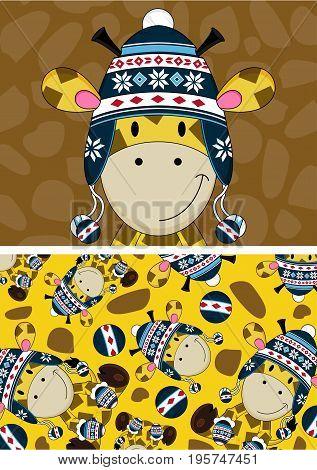 Little Giraffe Pattern.eps