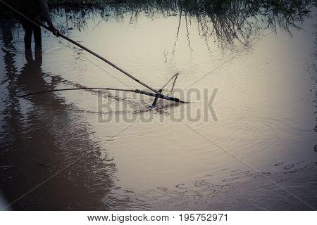 Fishermen And Fishing Equipment Kind Of Fish Trap