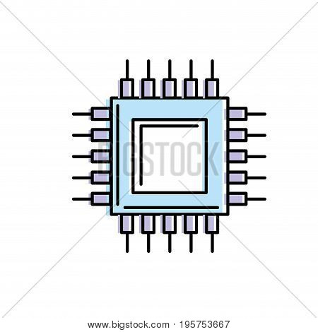 battery technology energy with connection and generator vector illustration