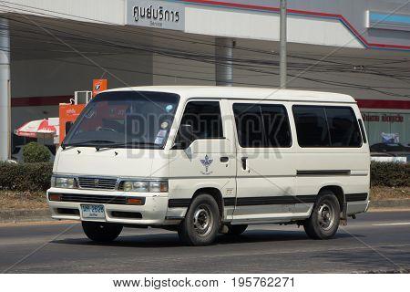 Nissan Urvan Van Car Of  Department Of Disease Control.
