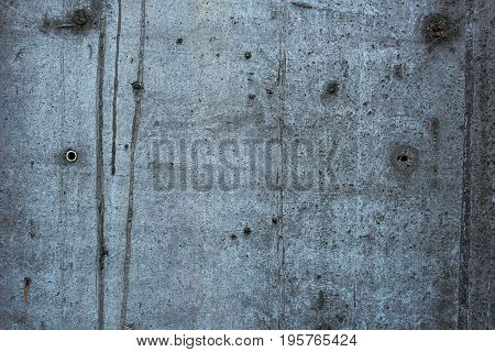 Rough grunge concrete wall texture gray cement surface as background