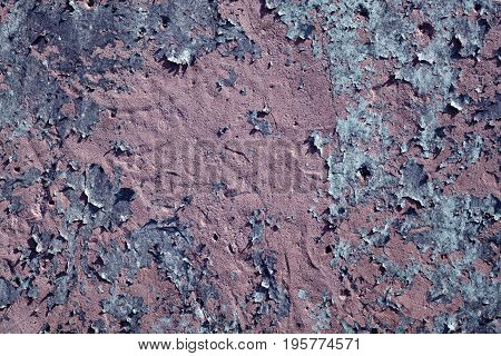 Weathered Grungy Cement Wall Surface.