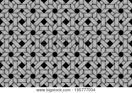 Matting fiber seamless pattern background. Vector Illustration