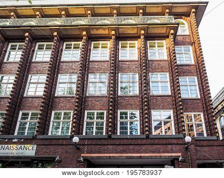 Broschek House By Fritz Hoeger In Hamburg Hdr