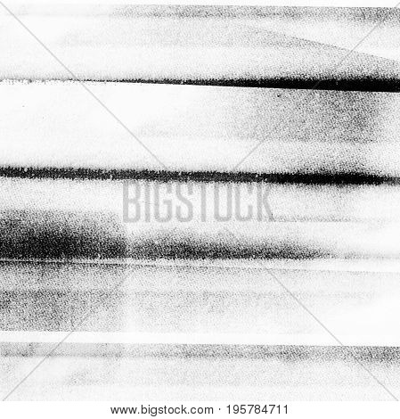Photocopy background texture with horizontal print marks