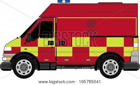 Fireman Van