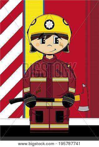 Cute Fireman 18