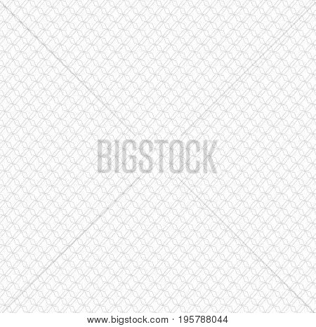 Vector light minimal seamless geometrical pattern. Monochrome endless backdrop for web, wallpaper design
