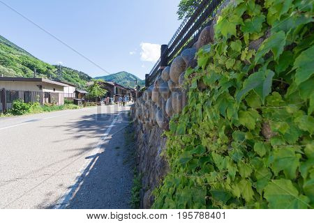 Narai is a small town in Nagano Prefecture Japan The old town provided a pleasant walk through about a kilometre of well preserved buildings.