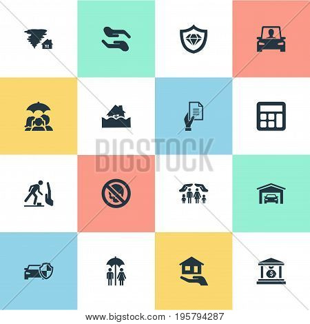 Vector Illustration Set Of Simple Icons