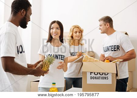 Passionate about help. Dedicated nice admirable people regularly sending supplies to those in need consisting of peoples donations while packing them pro bono