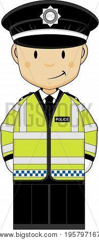 Cute Hi-vis Policeman.eps