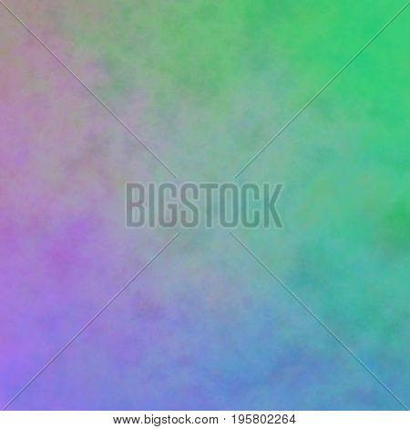 Interesting Uneven Colorful Background Texture With Green Blue Violet Colors Blend
