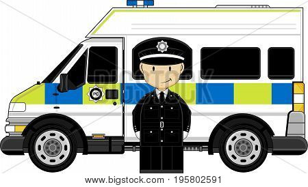 Little Policeman & Van