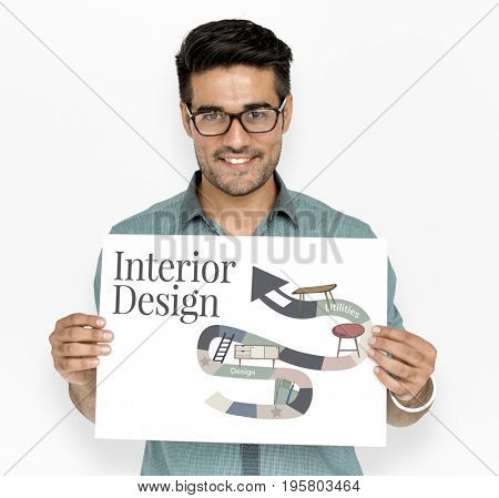 Home Repair Renovation Interior Design Concept