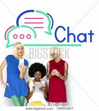 Chat Communication Connection Internet Concept