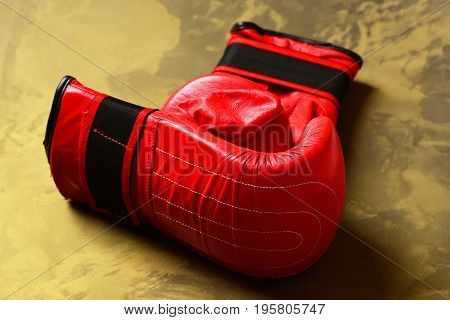 Sport Equipment Golden Pattern Background, Close Up. Training And Fitness