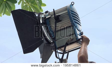 Production Light Equipment For Video Or Movie Shooting