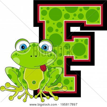 F Is For Frog 1.eps